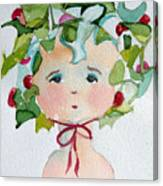 Little Miss Innocent Ivy Canvas Print