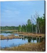 Little Musquatch Lake Canvas Print