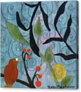 Little Nemo Bird Canvas Print