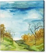 Little Path Canvas Print