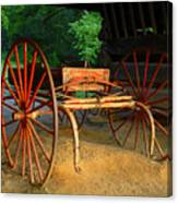 Little Red Buggy Canvas Print