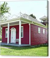 Little Red Schoolhouse, Council Grove Canvas Print