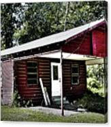 Little Red Shack Canvas Print