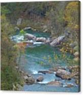 Little River Canyon Canvas Print