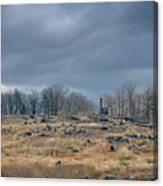 Little Round Top Canvas Print