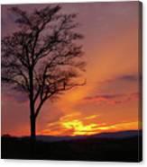 Little Round Top Sunset Canvas Print