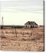 Little Shack On The Prairie Canvas Print