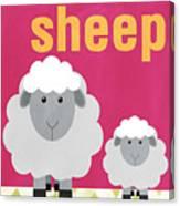 Little Sheep Canvas Print