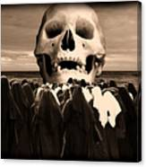 Little Sisters Of The Divine Skull Canvas Print