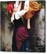 Little Thieves 1872 Canvas Print