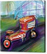 Little Tractor Canvas Print