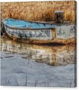 Little Wooden Boat Canvas Print