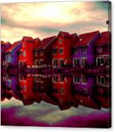 Live And Reflect Canvas Print