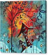 Live Life II By Madart Canvas Print