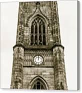 Liverpool Church Of St Luke - Tower B Canvas Print