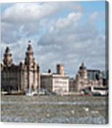 Liverpool Panoramic View Canvas Print