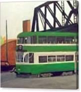 Liverpool Tram 1953 Canvas Print