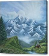 Living High Canvas Print