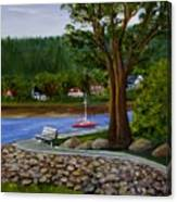 Living In Annapolis Royal Canvas Print