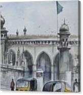 Living Legend Mecca Mazjid Canvas Print