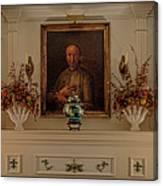 Living Room Mantle Display - 1 Canvas Print