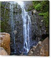 Living Waters - Wailua Falls Maui Canvas Print