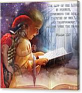 Living Word Canvas Print