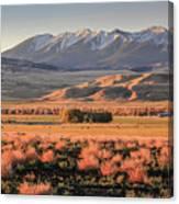 Livingston Montana Canvas Print