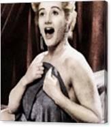 Liz Fraser, Vintage British Actress Canvas Print