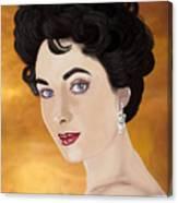 Liz Taylor Canvas Print
