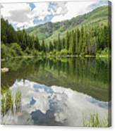 Lizard Lake Reflections Canvas Print