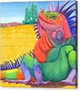 Lizard Of Oz Canvas Print