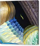 Lizard Skin Abstract II Canvas Print