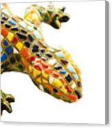 Lizard Souvenir By Antony Gaudi Canvas Print