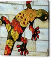 Lizard Wall Art Canvas Print