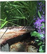 Lizards In The Garden Canvas Print