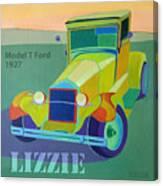 Lizzie Model T Canvas Print