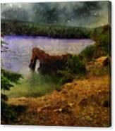 Lake Of Stars Canvas Print