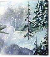 Lket It Snow - Let It Snow Canvas Print