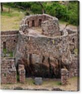 Llactapata Ruins Canvas Print