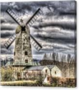 Llancayo Mill Usk 3 Canvas Print