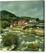 Llangollen Station  Canvas Print