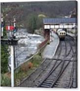 Llangollen Train Station Canvas Print