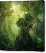 Llanowar Reborn Canvas Print