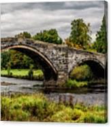 Llanrwst Bridge Panorama Canvas Print