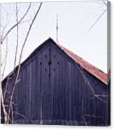 Lloyd Shanks Barn1 Canvas Print