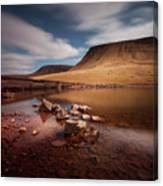 Llyn Y Fan Fach Black Mountain Canvas Print