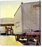 Loading Dock Canvas Print