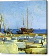 Loading Marble Canvas Print