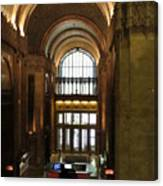 Lobby Of Woolworth Building Canvas Print